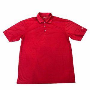 Nike Golf Polo Shirt Mens Size Large